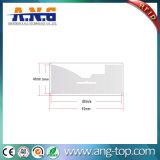 接着剤が付いている860~960MHz PVC UHF RFIDの手段の風防ガラスの札