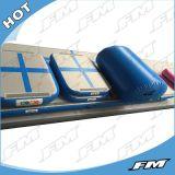 De duurzame Opblaasbare Mat van de Yoga van de Raad van de Lucht van het Spoor van de Lucht Opblaasbare