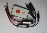 Het Pak van de Batterij van het Verwarmingssysteem van de Afstandsbediening van de Laars van de ski, Lader, Afstandsbediening