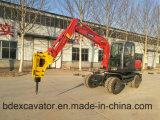 الصين عمليّة بيع حارّ صغيرة عجلة حفارة مع مطرقة مكسورة