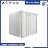 Sacchetto di filtro dell'aria del condizionamento d'aria del sistema di ventilazione della stanza pulita