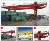 Fabricant chinois Grue de conteneur de portique mobile montée sur rail
