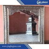 Prix 6mm argenté de miroir d'argent de salle de bains d'ovale du mur Mirror3mm 4mm 5mm 6mm de la qualité 2mm 4mm grand