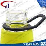 alta bottiglia di acqua di vetro di Borosilicate 570ml per gli sport (CHB8021)