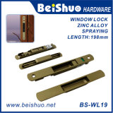 National Zinc Alloy Window Crescent Sash Lock