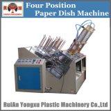 Plato de papel de la placa de papel de la placa de pastel de máquina de formación