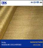 黄色い銅線の網か黄銅の金網または銅線の網