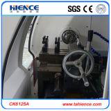 Torno de giro automático pequeno Ck6125A do CNC do baixo preço