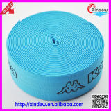 Imprimé le logo de la ceinture élastique ruban élastique (XDWK-002)