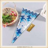 Saco da flor dos cones OPP/papel plásticos luva da flor