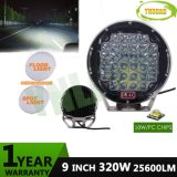 12V-24V 320W 까만 9inch 크리 사람 IP67 LED 일 Offroad 빛