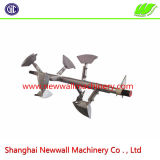 Misturador de arado de aço inoxidável