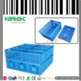 Caisse en plastique empilable et pliable pour la logistique