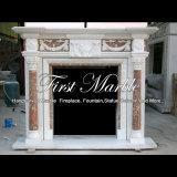 Camino di marmo per la decorazione domestica Mfp-1202