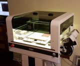 Machine de transfert automatique avec le câble d'alimentation de vibration de système de visibilité