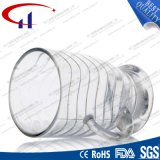 120ml kleine Form-transparente Glaskaffeetasse (CHM8130)