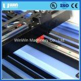 Автомат для резки лазера доски ног ткани занавеса бумажных карточек резиновый