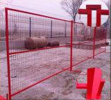 pó de 6ftx10FT que reveste a cerca provisória modular provisória do cerco/Canadá