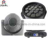 19PCS*12W Hawkeye LEDのビーム点の洗浄段階の移動ヘッドライト