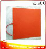 calefator da impressora da borracha de silicone 3D de 12V 800W 400*400*1.5mm