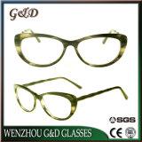 Óculos de acetato de grossista de boa qualidade óptica óculos espetáculo Frame