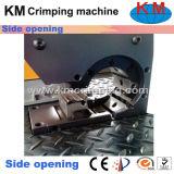 Machine de rabattement de nouveau de conception tuyau ouvert de côté (KM-83L)
