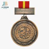 Il rifornimento la medaglia su ordinazione di Sounenir incisa bronzo della pressofusione per Veitnam