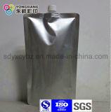 Sachets en plastique liquides transparents multi de la couche PA/PE avec le bec