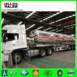 De tri Aanhangwagen van de Tanker van de Brandstof van de Diesel van het Aluminium van de As 40000L