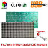 Pixéis vermelhos do módulo 64X32 da estrutura do sinal do diodo emissor de luz de F5.0 P7.62 1/16 de placa da alta resolução Hub08 da varredura 488X244mm