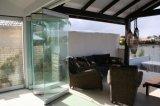 オフィスおよびショッピングモールのためのFramelessの移動可能なガラス壁
