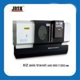 편평한 침대 CNC 선반 Ck6163 CNC 선반 기계