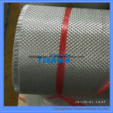 Fibre discontinue tissée par fibre de verre de fibres de verre de tissu de tissu en verre de fibre