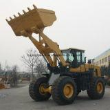 De Geschatte Lading van het Wiel van het Ontwerp van de kat Lader 6 Ton met de Emmer van de Rots
