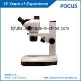 Precio razonable 0.68x-4.7X Laboratorio Microscopio para laboratorio dental Microscopía