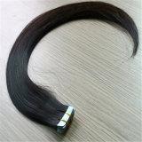 Estensione di trama dei capelli umani di Prebonded del nastro dei capelli della pelle di prezzi di fabbrica