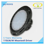 Luz industrial listada de RoHS IP65 100W do Ce com excitador de Meanwell
