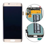 Conjunto do digitador da tela do LCD para a borda de Samsung S6 mais