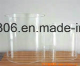 Paralume libero del cilindro di vetro di Pyrex