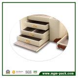 Caja de joyería de cuero portable Grueso alta calidad de lujo