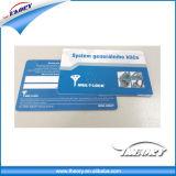 la stampa offset 4c ha stampato la scheda del contatto CI del PVC del campione libero