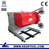 El cable de la máquina de sierra de corte vertical y horizontal
