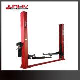 Elevación del coche de poste de Junhv 5000kg 2 para el servicio del coche