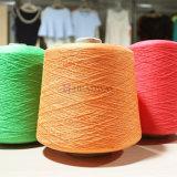 Vente chaude Tissage Tricotage un Qaulity 100% polyester filé