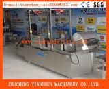 Máquina de fritura contínua da correia líquida para (porcas, alimento de grão, microplaquetas da banana, fritadas do francês)