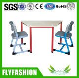 Moden 학교 가구 도매 (SF-100S)를 위한 나무로 되는 학교 사다리꼴 테이블 의자