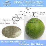 Выдержка 80%-95% Mogrosides 25%-50% Mogroside v плодоовощ монах