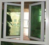 工場(PCW-025)からの安いPVC開き窓のガラス窓