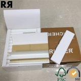 Un papier de roulement non raffiné plus riche de cigarette de Brown avec des extrémités de filtre