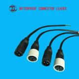 Bett IP67 2-12 pines del conector de cable resistente al agua para LED
